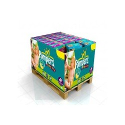 Pampers - Pack jumeaux 640 Couches Baby Dry taille 4+ sur Les Couches