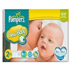 800 Couches Pampers New Baby Premium Protection taille 2 sur Les Couches