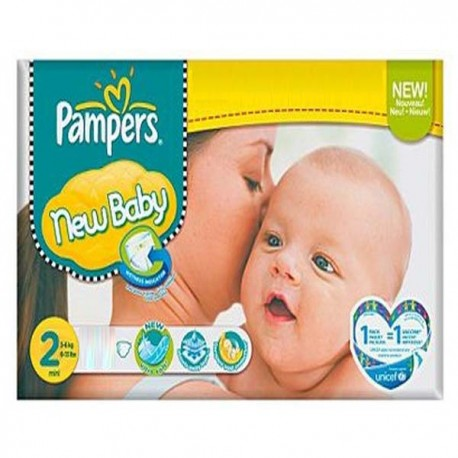 800 Couches Pampers New Baby taille 2 sur Les Couches