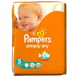 LesCouches Pack 41 couches Pampers Simply Dry