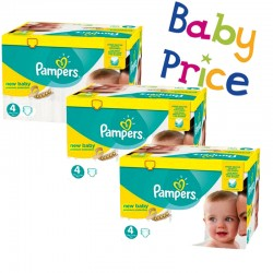 Pampers - Maxi mega pack 448 Couches New Baby Premium Protection taille 4