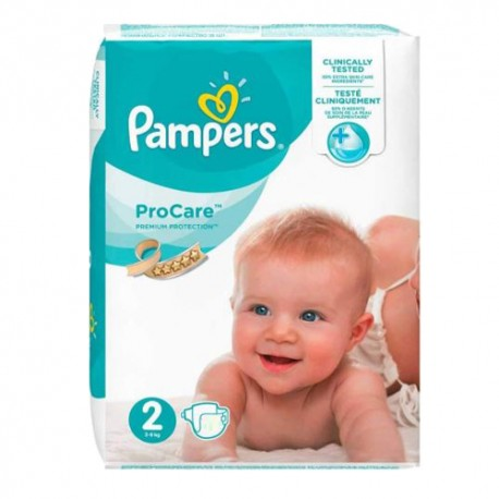 Pampers - Pack 36 Couches ProCare Premium protection taille 2 sur Les Couches