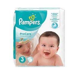 Pampers - Pack 32 Couches ProCare Premium protection taille 3