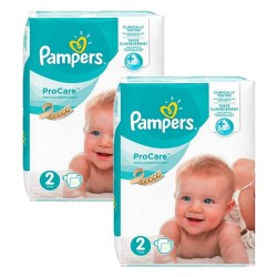 Pampers - Giga pack 252 Couches ProCare Premium protection taille 2