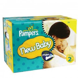 Pampers - Pack jumeaux 738 Couches New Baby Premium Protection taille 2 sur Les Couches