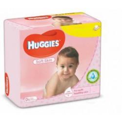 Huggies - Pack jumeaux 504 Lingettes Bébés Soft Skin sur Les Couches
