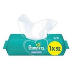 Pampers - Pack 52 Lingettes Bébés Fresh Clean sur Les Couches