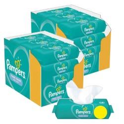 Pampers - Maxi giga pack 312 Lingettes Bébés Fresh Clean sur Les Couches