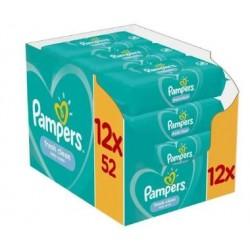 Pampers - Pack jumeaux 520 Lingettes Bébés Fresh Clean sur Les Couches
