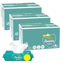 Pampers - Pack jumeaux 624 Lingettes Bébés Fresh Clean sur Les Couches