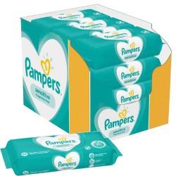 Pampers - Pack jumeaux 936 Lingettes Bébés Sensitive sur Les Couches