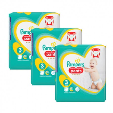 Pampers - Mega pack 175 Couches Premium Protection Pants taille 3 sur Les Couches
