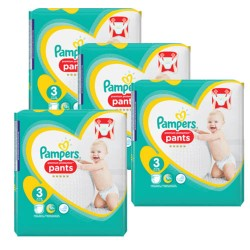 Pampers - Maxi giga pack 310 Couches Premium Protection Pants taille 3 sur Les Couches
