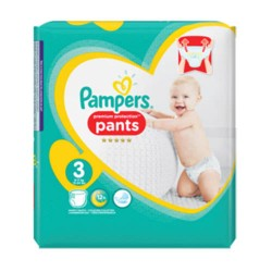 Pampers - Pack 35 Couches Premium Protection Pants taille 3 sur Les Couches