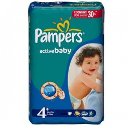 LesCouches Pack 32 couches Pampers Active Baby