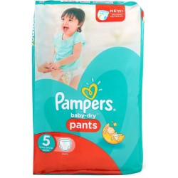 Pampers - Pack 15 Couches Baby Dry Pants taille 5