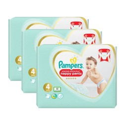 Pampers - Mega pack 190 Couches Premium Protection Pants taille 4 sur Les Couches
