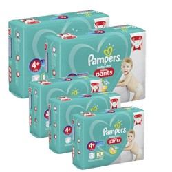 Pampers - Pack jumeaux 594 Couches Baby Dry Pants taille 4+ sur Les Couches