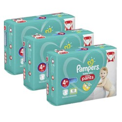 Pampers - Pack jumeaux 693 Couches Baby Dry Pants taille 4+ sur Les Couches
