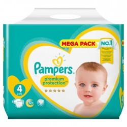 Pampers - Pack 96 Couches New Baby Premium Protection taille 4 sur Les Couches