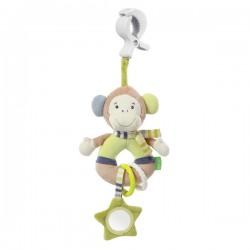 Babysun - Doudou Pince-Clip Activités Singe Monkey Donkey sur Les Couches