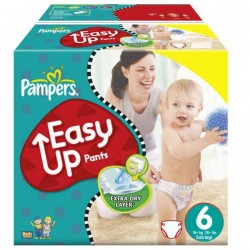 LesCouches Giga Pack 114 couches Pampers Easy Up