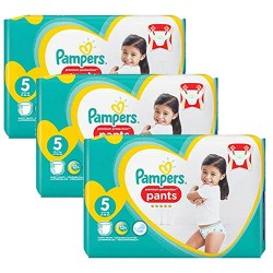Pampers - 340 Couches Premium Protection Pants taille 5 sur Les Couches