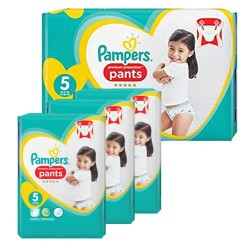 Pampers - Maxi mega pack 408 Couches Premium Protection Pants taille 5 sur Les Couches