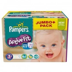 LesCouches Maxi Giga Pack 280 Couches Pampers Active Fit