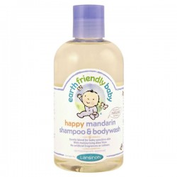 EFB - Earth Friendly Baby - Flacon Gel douche Bio Mandarine sur Les Couches