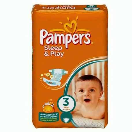 Mega pack 140 Couches Pampers Harmonie taille 4 sur Les Couches