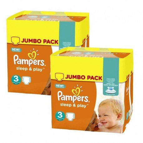 Giga pack 280 Couches Pampers Harmonie taille 4 sur Les Couches