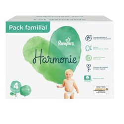 Pampers - Maxi mega pack 420 Couches Harmonie taille 4