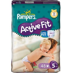 LesCouches Pack 48 couches Pampers Active Fit