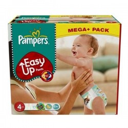 LesCouches Maxi Giga Pack 210 couches Pampers Easy Up
