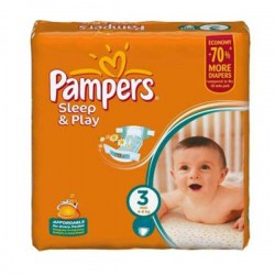LesCouches Mega Pack 300 couches Pampers Sleep & Play