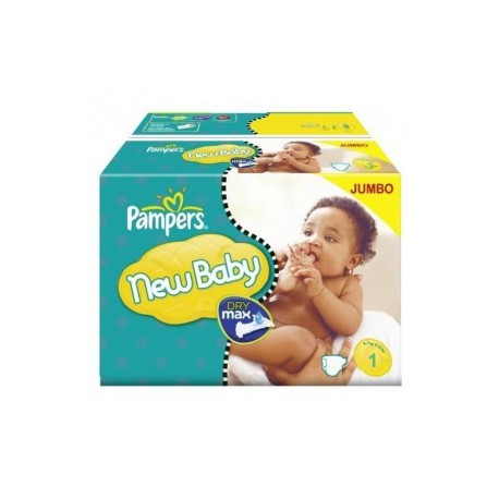 Pampers - Pack jumeaux 648 Couches New Baby Premium Protection taille 1 sur Les Couches