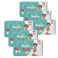 Pampers - Giga pack 286 Couches Baby Dry Pants taille 3