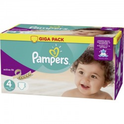Pampers - Mega pack 160 Couches Active Fit Pants taille 4