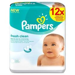 Pampers - 768 Lingettes Bébés Fresh Clean sur Les Couches