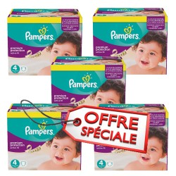 Pampers - 820 Couches Active Fit taille 4 sur Les Couches