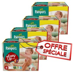 Pampers - 840 Couches Easy Up taille 4 sur Les Couches