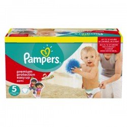 LesCouches Giga Pack 152 couches Pampers Easy Up