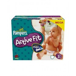 Pampers - 360 Couches Active Fit taille 3