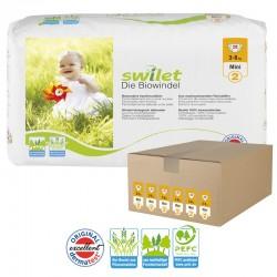 Swilet - Giga pack 168 Couches bio écologiques taille 2 sur Les Couches