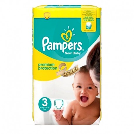 Pampers - Pack 29 Couches Premium Protection - New Baby taille 3 sur Les Couches