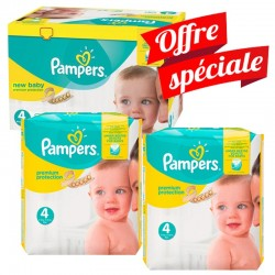 Pampers - Maxi Giga Pack 672 Couches Premium Protection - New Baby taille 4