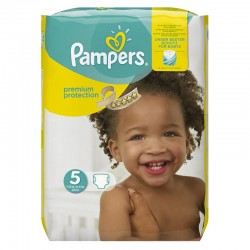 Pampers - Pack 68 Couches Premium Protection - New Baby taille 5 sur Les Couches