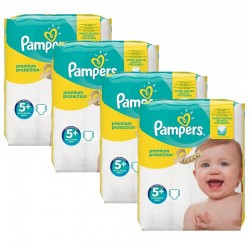 Pampers - Giga Pack 160 Couches Premium Protection - New Baby taille 5+ sur Les Couches