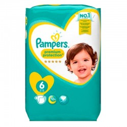 Pampers - Pack 120 Couches Premium Protection - New Baby taille 6 sur Les Couches